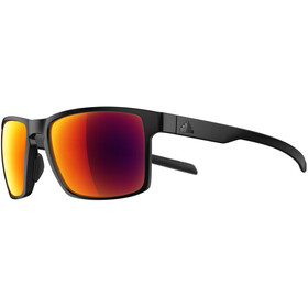 adidas Wayfinder Glasses black matt/red mirror